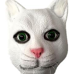 Halloween-Masken Tiermaske Spielzeuge Katze Horror-Theme Stücke Unisex Geschenk