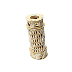 cheap -3D Puzzle Model Building Kit Tower Famous buildings Leaning Tower of Pisa EPS+EPU Unisex Gift