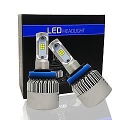 S2 led forlyktesett h7 / h8 / h9 / h10 / h11 / 9005/9006 fjernlyslys