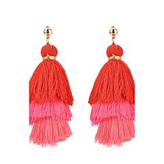 Žene Viseće naušnice Klasika Elegantno Više slojeva Kićankama Moda Bohemia Style Legura Jewelry ZaDnevno Kauzalni Večer stranka Formalan