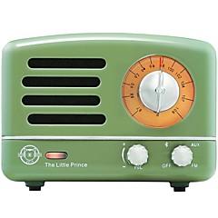 MAO KING MW-2A Портативный радиоприемник FM-радио Встроенный из спикера Белый Желтый Красный Зеленый Синий