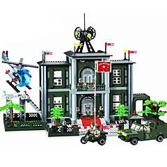 Bausteine Spielzeuge Architektur Stücke Unisex Geschenk