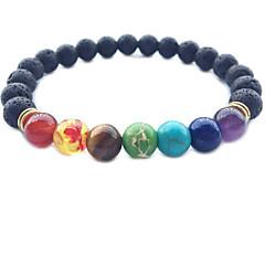 Herrn Damen Strang-Armbänder Kristall Obsidian Basis Liebe Modisch Vintage Einstellbar individualisiert Hypoallergen nette Art