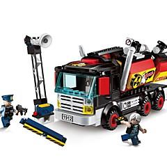 אבני בניין צעצועים משאית חתיכות יוניסקס מתנות
