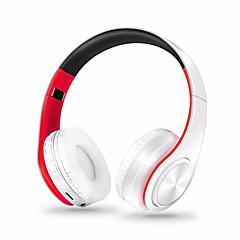 billige -LPT660 Trådløs Hodetelefoner hybrid Plast Sport og trening øretelefon Foldbar Med volumkontroll Med mikrofon Støyisolerende Headset
