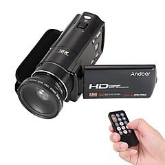 Muovi Videokamera Teräväpiirto Ulkoilu Indoor Kannettava Kosketusnäyttö