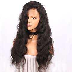 cheap Wigs & Hair Pieces-Human Hair Glueless Full Lace / Full Lace Wig Peruvian Hair Body Wave Wig 150% Natural Hairline / For Black Women Women's Long Human Hair Lace Wig