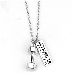 Men's Women's Pendant Necklaces Jewelry Geometric Stainless Steel Geometric Fashion Jewelry For Street Going out