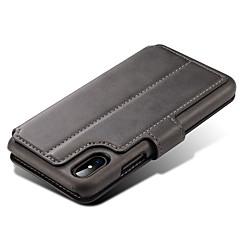 Für iPhone X iPhone 8 iPhone 8 Plus iPhone 7 Hüllen Cover Geldbeutel Kreditkartenfächer mit Halterung Flipbare Hülle Magnetisch