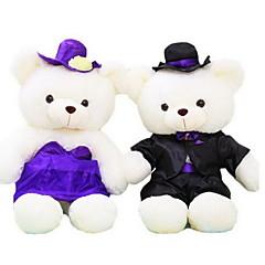 장난감을 채웠다 인형 장난감 곰 웨딩 드레스 동물 규정되지 않음 조각