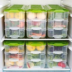 cheap Kitchen Storage-1pc Food Storage Plastic Easy to Use Kitchen Organization