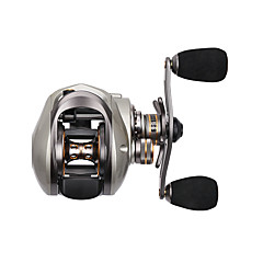 Fishing Reel Baitcast Reels 6.6:1 10 Ball Bearings Right-handed Sea Fishing Bait Casting Freshwater Fishing Trolling & Boat Fishing Carp