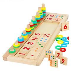 hesapli Matematik Oyuncakları-Montessori Eğitim Araçları Legolar Matematik Oyuncakları Eğitici Oyuncak Dikdörtgen Kendin-Yap Genç Kız Genç Erkek Oyuncaklar Hediye