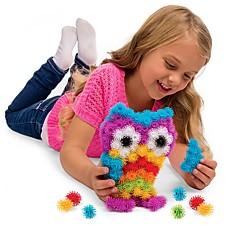 Sada na domácí tvoření Stavební bloky Míčky Bunchems Hračky Kolo Dětské Pieces