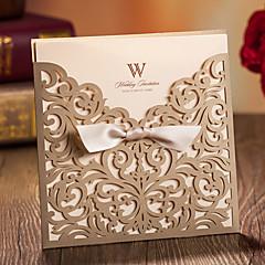 abordables Invitations de Mariage-Format Enveloppe & Poche Invitations de mariage 20 - Cartes d'invitation Style classique Papier gaufré