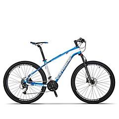 אופני הרים רכיבת אופניים 27 מהיר 27.5 אינץ SHIMANO M370-3 / 9 דיסק בלימה מזלג שיכוך נגד החלקה סגסוגת אלומיניום סיבי פחמן + EPS Aluminum