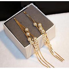 女性用 フープピアス ファッション クラシック 真珠 ゴールドメッキ ジュエリー 用途 結婚式