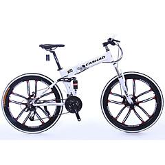 Mountain bike Összecsukható kerékpár Kerékpározás 21 Speed 26 hüvelyk/700CC Shimano Dupla tárcsafék Villa Aluminium Alumínium Aluminum