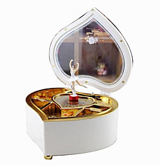 Zenedoboz Játékok Szív alakú Rajzfilmfigura Műanyagok 1 Darabok Nincs megadva Születésnap Ajándék