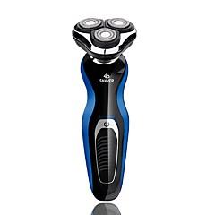 billige Barbering og hårfjerning-Elektriske barbermaskiner Vannavvisende Lettvekt Lett og praktisk Håndholdt design Vaskbar Herrer Ansikt 110-240V Vannavvisende Lettvekt