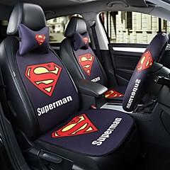 Superman bilsete pute sete deksel sete fire sesonger generelt omgitt av en fem sete nakkestøtte med 2 hjul sett