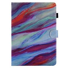 kotelon kannessa kortin haltija lompakko, jossa seisontatuuloke koko kehon kotelo marmori kova pu nahka omena ipad pro 10.5 ipad (2017)