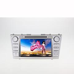 billiga DVD-spelare till bilen-8inch 2 din in-dash bil dvd-spelare för toyota camry 2007-2011 med gps, bt, fm, pekskärm
