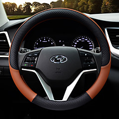 billige Rattovertrekk til bilen-Kjøretøy Rattovertrekk til bilen(Lær)Til Hyundai Alle år General motors