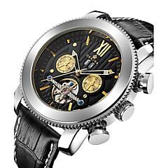 Bărbați de Copil Ceas Sport Ceas Militar ceas mecanic Japoneză Mecanism automat Cronograf Rezistent la Apă Gravură scobită Zone Triple De