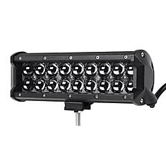 1PCS Hitting Range 4D Lens Design Genuine Automotive Lighting Pattern 10 Inches 90W 9000LM 6500K Duanl Row LED Light Bar Spot Beam Lightness