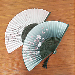 cheap Fans & Parasols-Party / Evening / Causal Material Wedding Decorations Beach Theme / Garden Theme / Butterfly Theme / Holiday / Classic Theme / Rustic