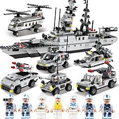 ブロックおもちゃ ボート 航空母艦 おもちゃ 軍艦 戦闘機 警官 航海 軍隊 DIY クラシック 成人 男の子 1090 小品