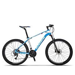 אופני הרים רכיבת אופניים 27 מהיר 700CC/26 אינץ' SHIMANO M370-3 / 9 דיסק בלימה מזלג שיכוך נגד החלקה סגסוגת אלומיניום סיבי פחמן + EPS