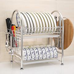 Χαμηλού Κόστους Οργάνωση κουζίνας-Οργάνωση κουζίνας Έπιπλα μαγειρικής Ανοξείδωτο ατσάλι Εύκολο στη χρήση 1pc