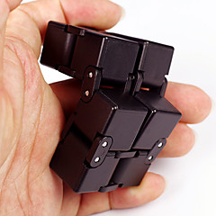 cheap Fidget Spinners-Infinity Cubes Fidget Toy Magic Cube Stress Reliever Novelty Plastic 1pcs Pieces Boys' Kid's Adults' Gift