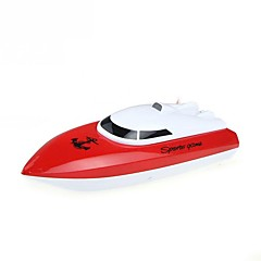 abordables -Bateau RC  WL Toys HY802Red 4 Chaînes 20 KM / H RTR