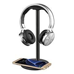 billige Tilbehør til hodetelefoner-hodetelefoner hodetelefoner / henger / holder / montering med qi trådløs lading for Samsung Galaxy s7 / s7 edges6 / s6 edgenote 5 nexus