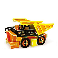 3D Puzzles Truck Toys Truck Vehicles Cartoon Design Kids 1 Pieces