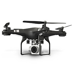 RC Drone X52 4 Kanaler 6 Akse 2.4G Med 0.3MP HD-kamera Fjernstyrt quadkopter Høyde Holding WIFI FPV LED-belysning En Tast For Retur