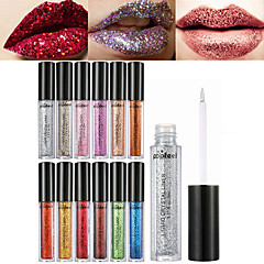 1pcs יהלום זוהר מבריק שפתיים מבריק נצנוץ אבקת נצנצים spangle שפתיים & נוזל פיגמנט העין