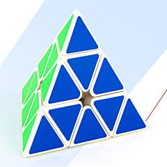 Rubikin kuutio Tasainen nopeus Cube pyraminx Rubikin kuutio Lievittää stressiä Opetuslelut Sileä tarra Muuta Kolmia Lahja