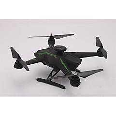 billige Fjernstyrte quadcoptere og multirotorer-RC Drone YKQY RC136WGS 4ch 6 Akse 2.4G Med 1080 P HD-kamera Fjernstyrt quadkopter FPV Med kamera GPS LED 1 x senderen 1 x RC Quadcopter