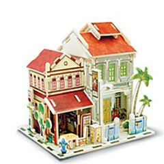 3D Puzzles Toys Architecture Houses 1 Pieces