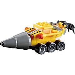 אבני בניין מקדח צעצועים מכונות חפירה 1 חתיכות