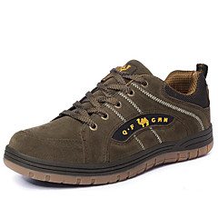 Running Shoes Mountaineer Shoes Men's Breathability Leisure Sports Low-Top Suede Rubber Hiking Running