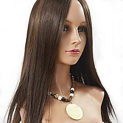 זול פיאות ותוספות שיער-שיער אנושי תחרה מלאה פאה שיער אירואסיה ישר 130% צְפִיפוּת ארוך בגדי ריקוד נשים פיאות תחרה משיער אנושי