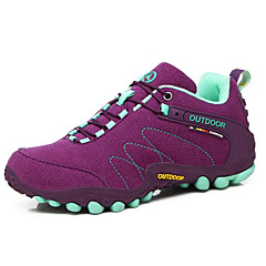 Running Shoes Mountaineer Shoes Women's Anti-Slip Rain-Proof Wearable Breathability Leisure Sports Low-Top Suede EVA Hiking Running