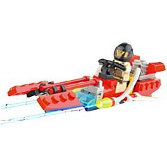 אבני בניין לוחם צעצועים לוחם 1 חתיכות