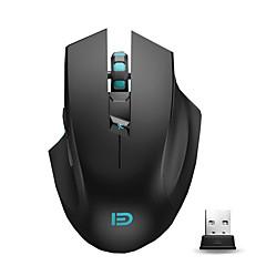 2.4g ergonomisk trådløs mus for bærbar datamaskin og mac