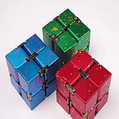 billige Håndspinnere-Evighetskube Fidgetleker Magiske kuber Pedagogisk leke Nytt Design Stress og angst relief Klassisk & Tidløs Barne Voksne Gutt Gave